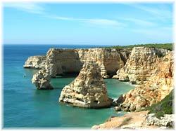 Algarve Portugal Felskueste